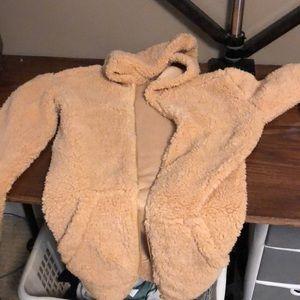 Knockoff IAMGIA pixie coat with hood